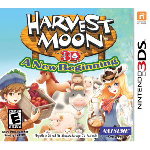 3DS XL & Harvest Moon: A New Beginning