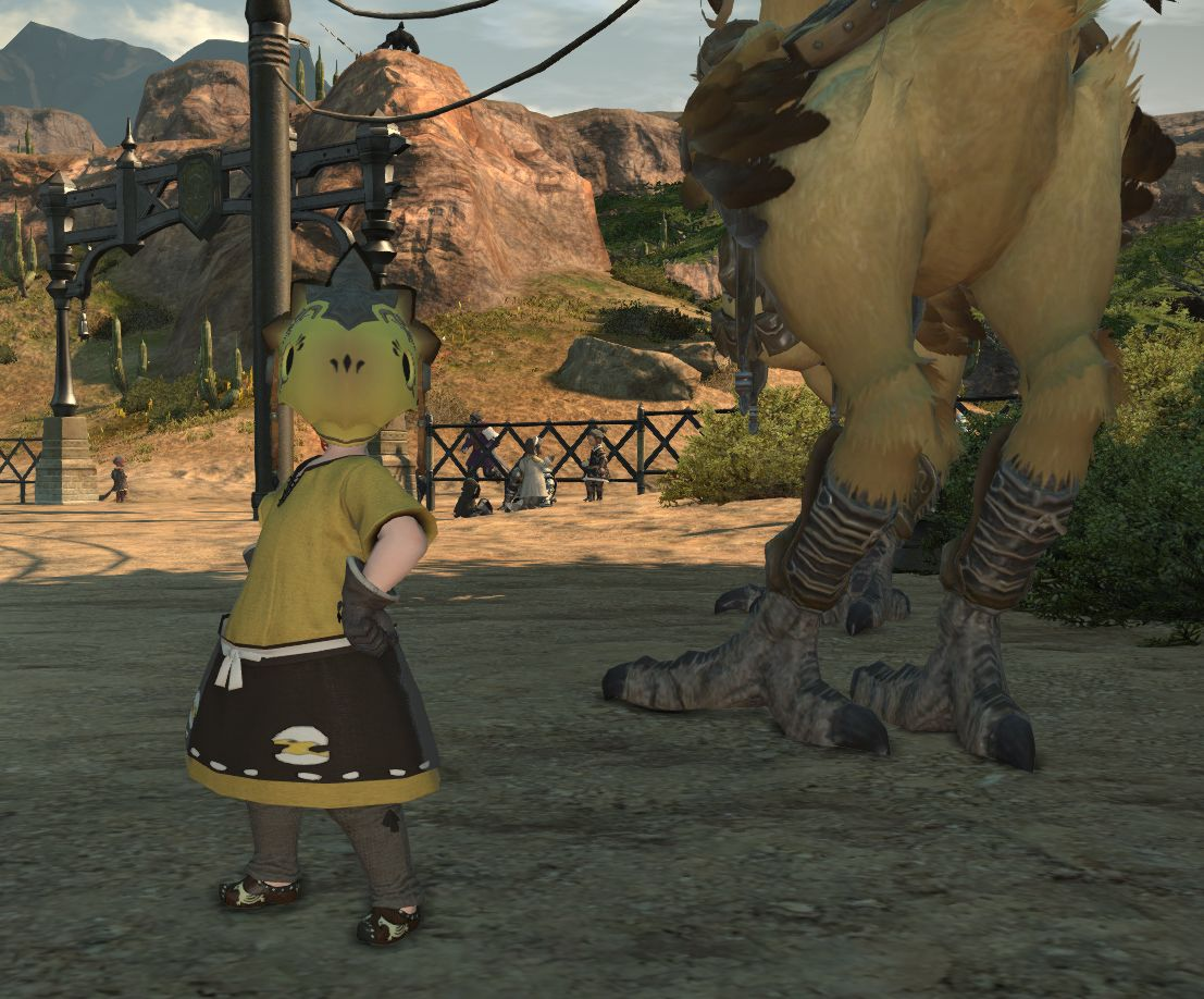 FF XIV: Pushing me out of my comfort zone