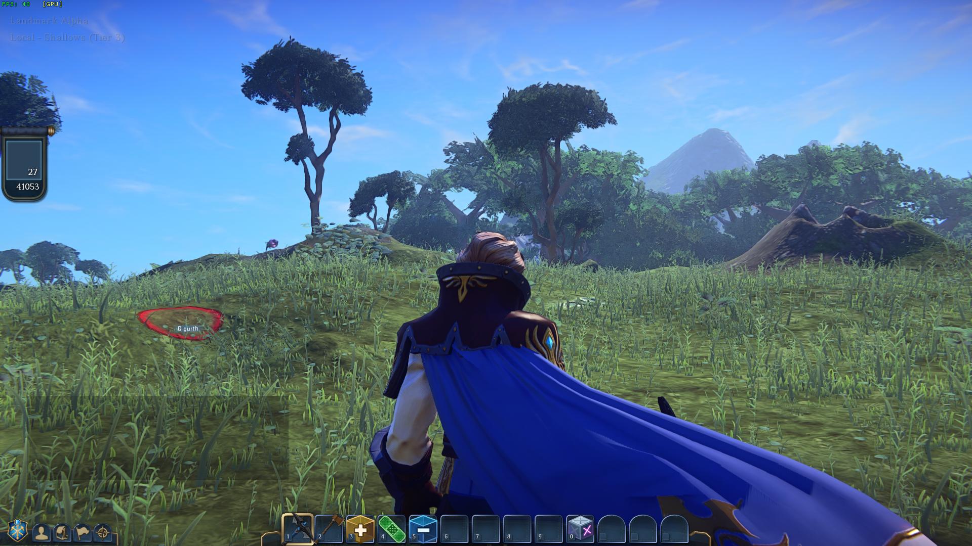 Day 2 of the EverQuest Next Landmark alpha
