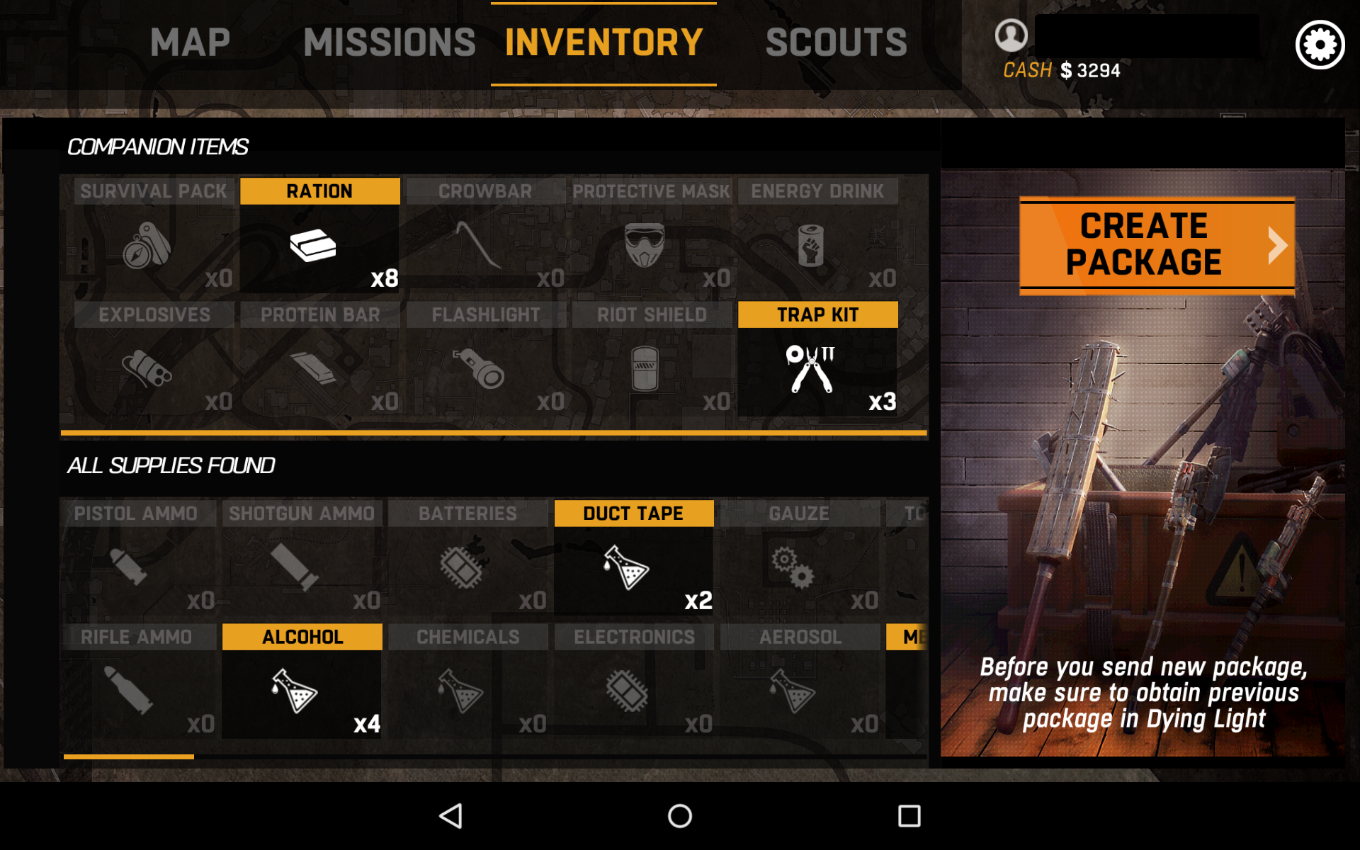 Dragonchasers » Dying Light companion app
