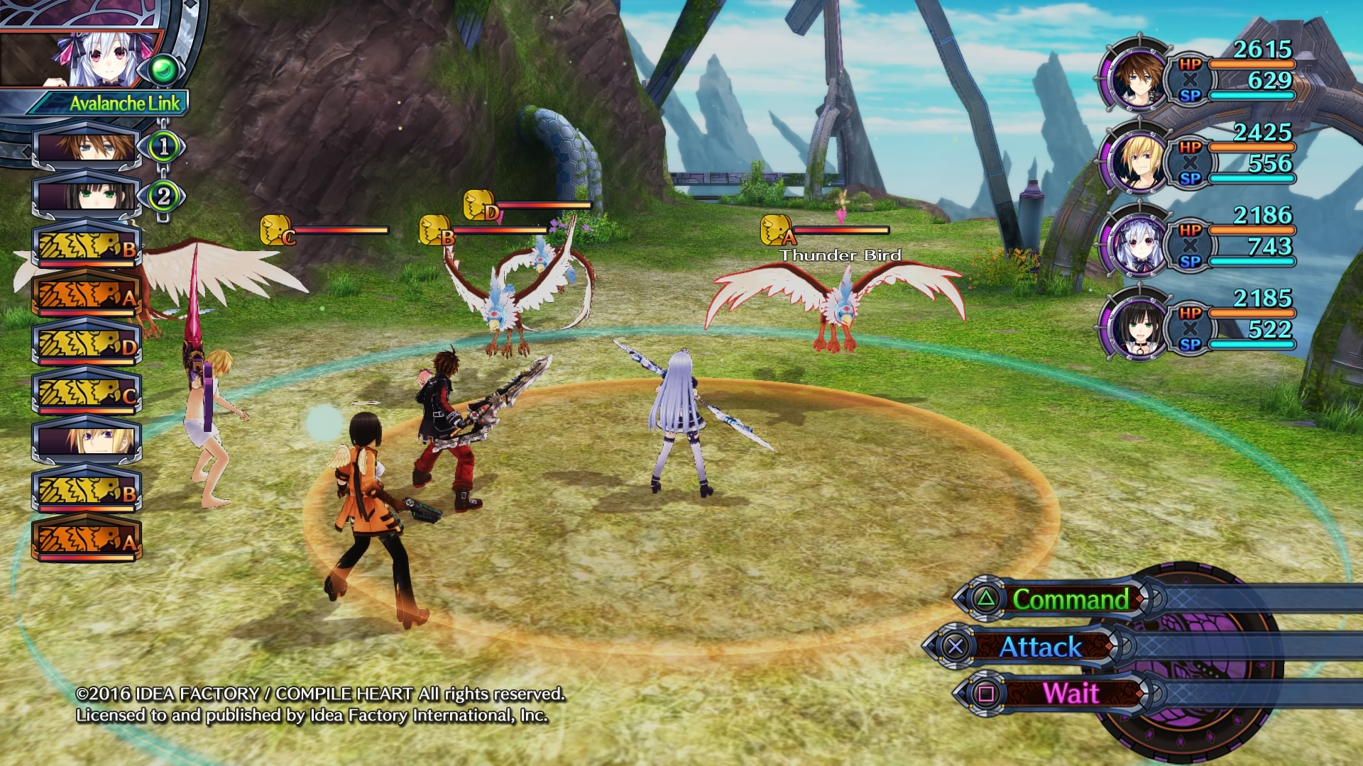 Dragonchasers Combat In Fairy Fencer F Advent Dark Force