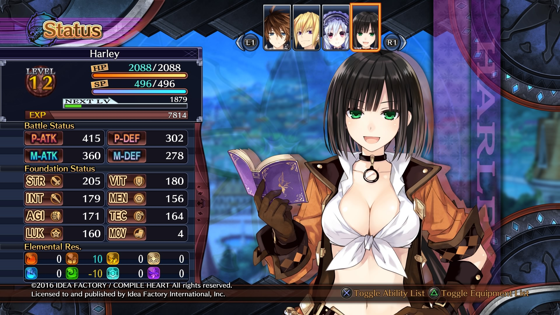 Fairy Fencer Monday: There's change in the wind