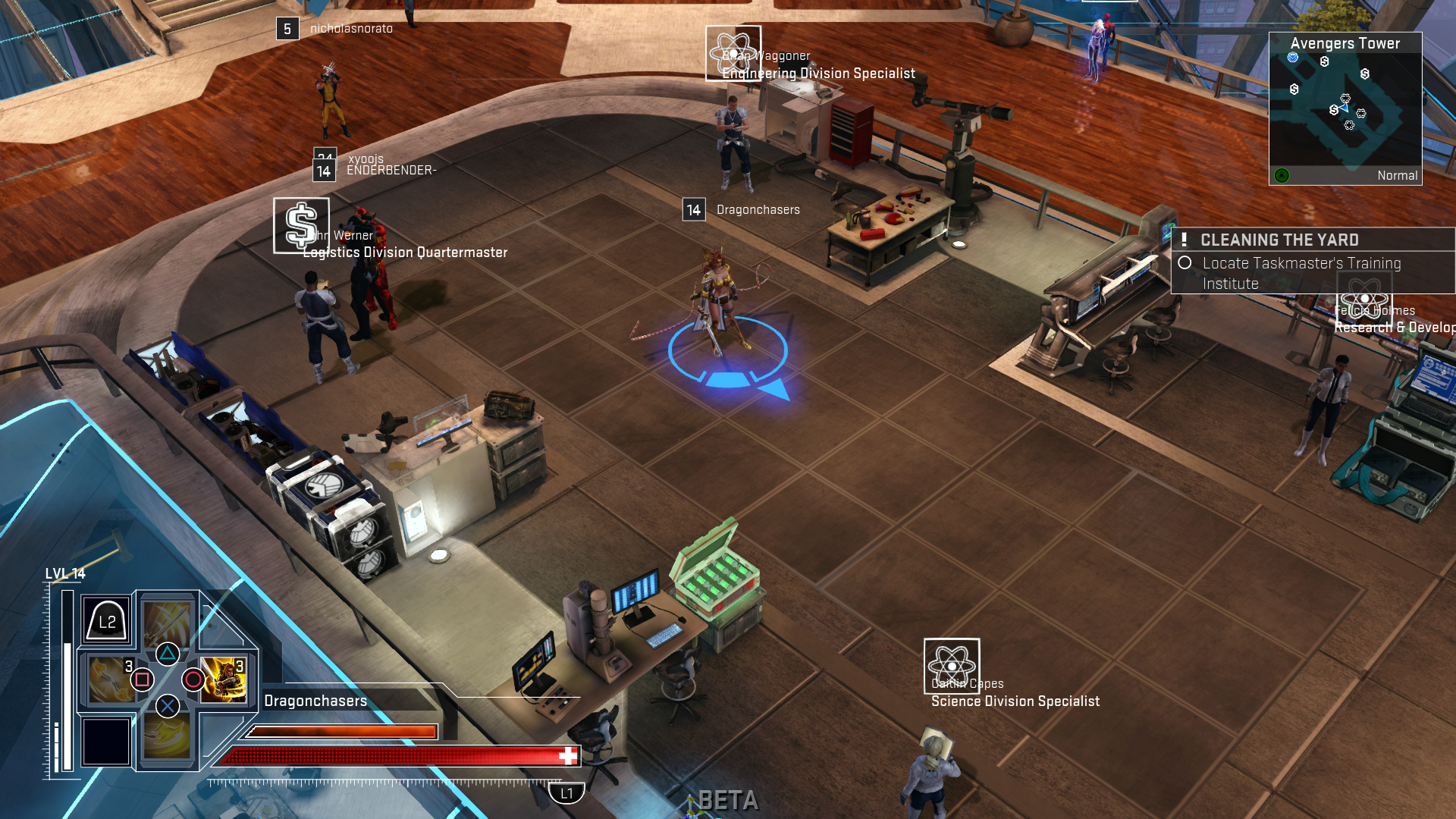Dragonchasers » Marvel Heroes Omega Early Access report