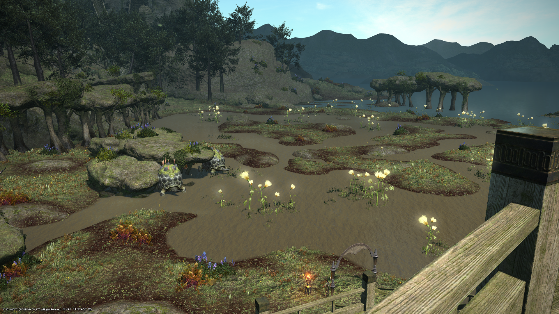 Putzing around in Final Fantasy XIV