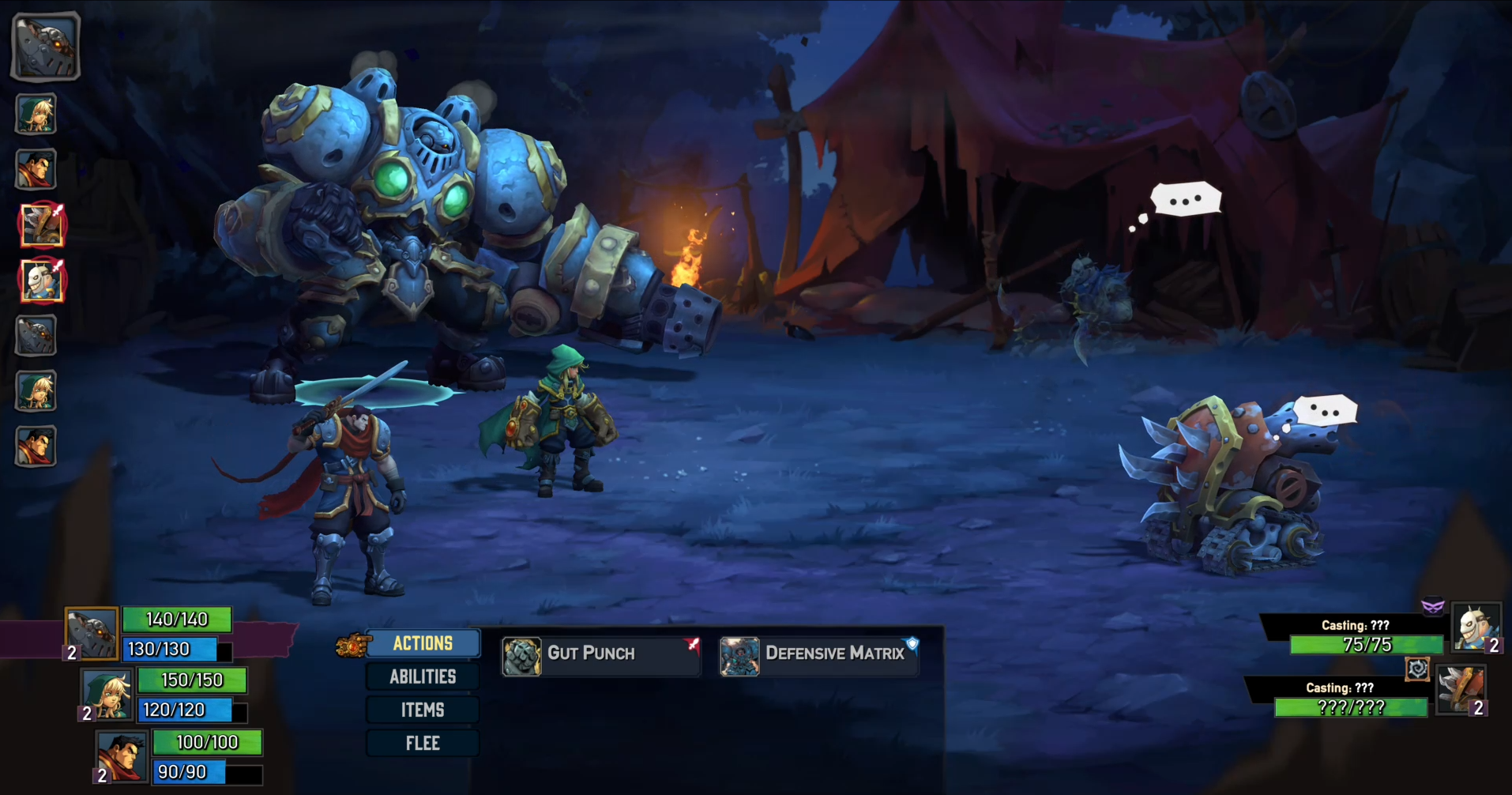 Stumbled onto Battle Chasers: Nightwar