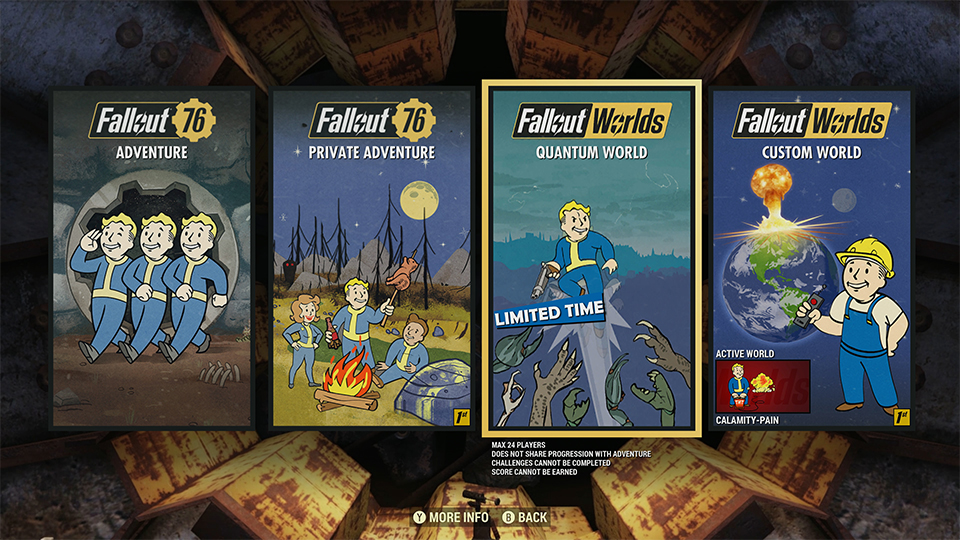 Fallout 76 Custom Worlds: I Don't Get It